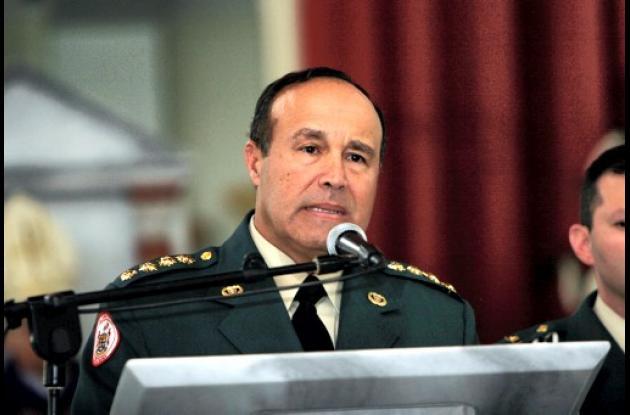 El general Alejandro Navas.
