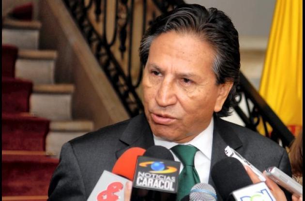 Alejandro Toledo, ex presidente de Perú.