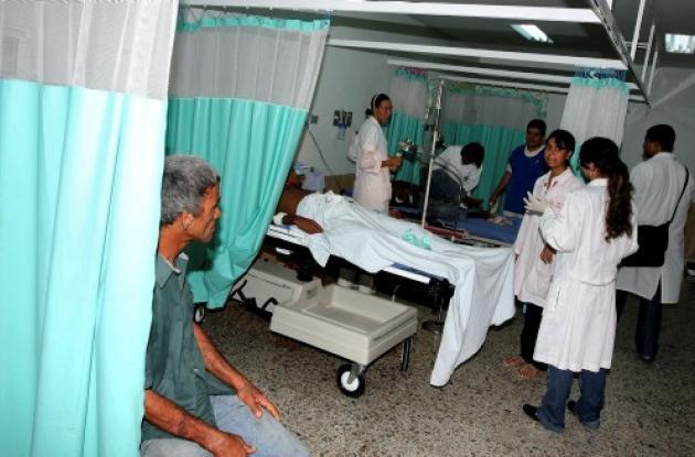 Alerta Roja en el sector salud de Bolívar.