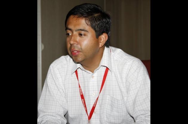 Alexander Bárcenas Castañeda, de la UNP.