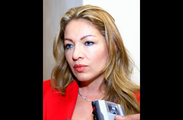 Alexandra Moreno Piraquive, senadora del MIRA.