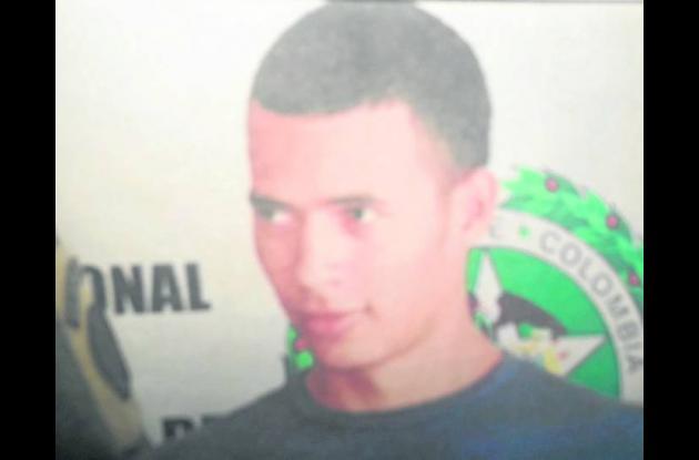 Alexis Molina, capturado.