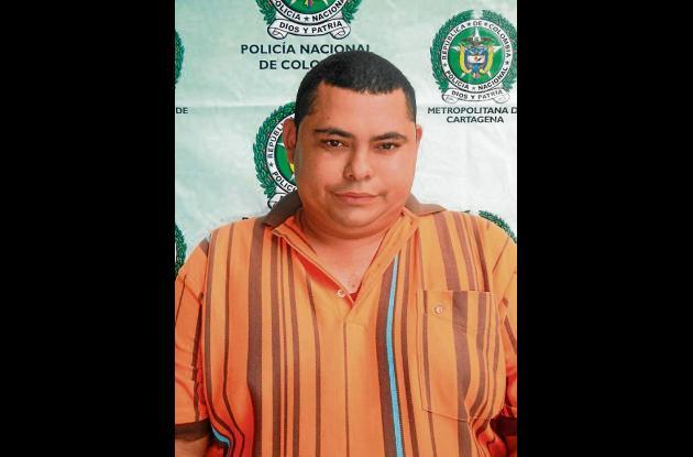 Amaury Ballestas fue captura-do al salir de una clínica, don-de se recuperó de t