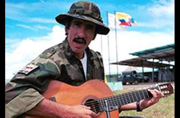 Guillermo Torres, alías Julián Conrado, el cantautor de las Farc.