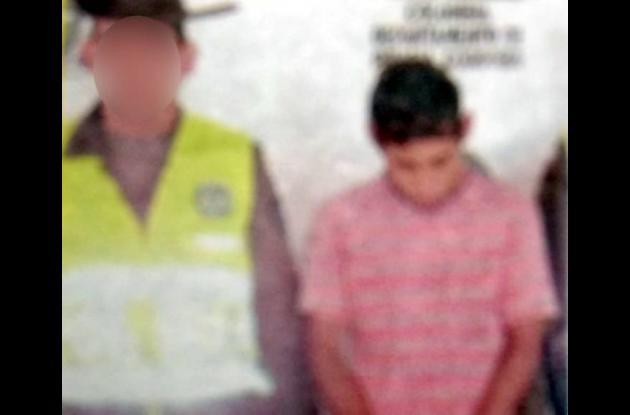 Elías Manuel Torres, conocido como El Kiriki, capturado.