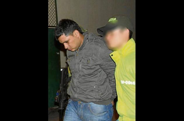 James Zea González, fue traslado de Medellín a Cartagena para que responda por l