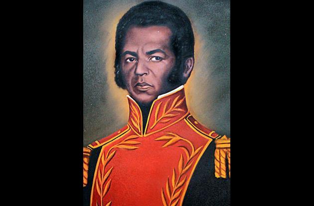 Almirante José Prudencio Padilla.