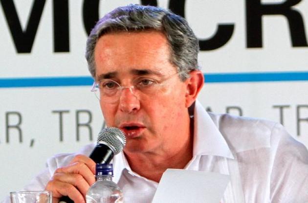 Álvaro Uribe Vélez, ex presidente de Colombia.