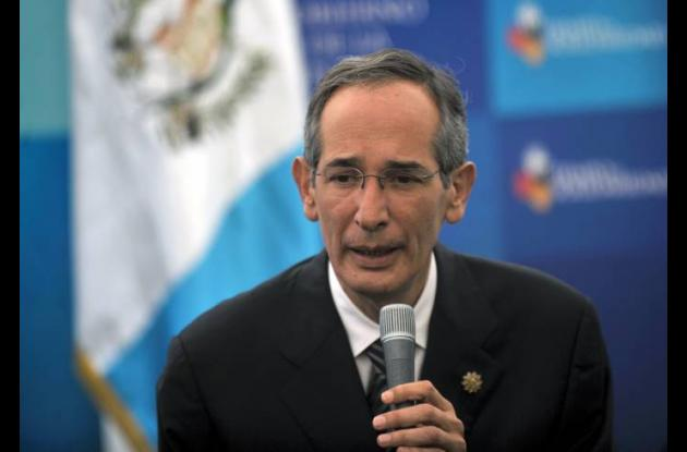 Álvaro Colom, expresidente de Guatemala.