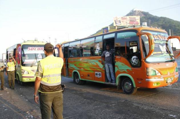 Incremento en costo de transporte público en 2012.