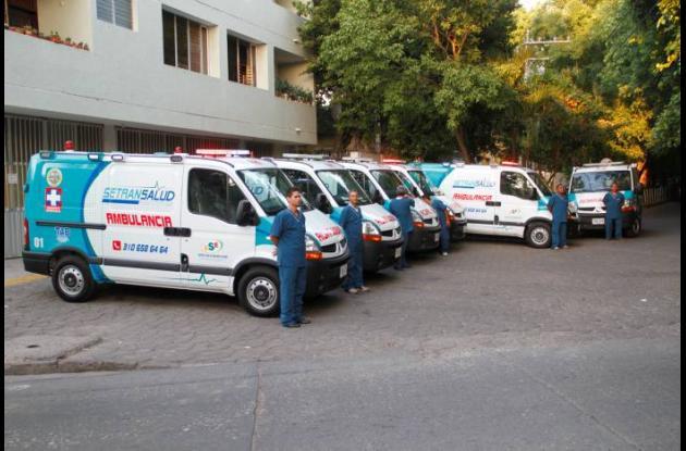 Nuevas ambulancias ESE