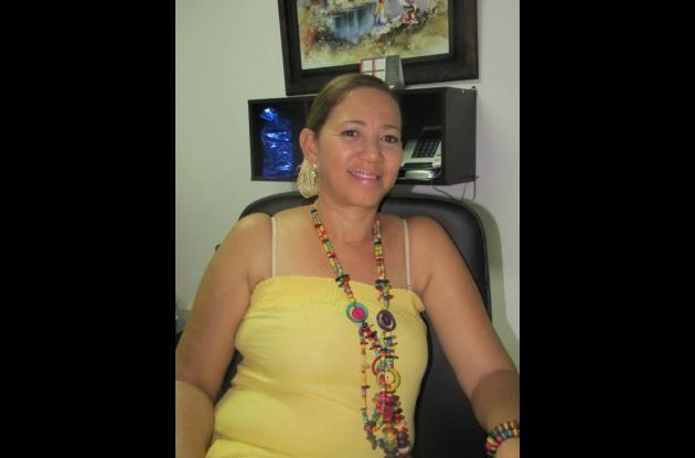 Aminta Salguedo, primera dama de Santa Rosa.