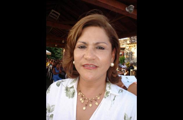 Amparo Alvarez, enlace de Familias en Acción.