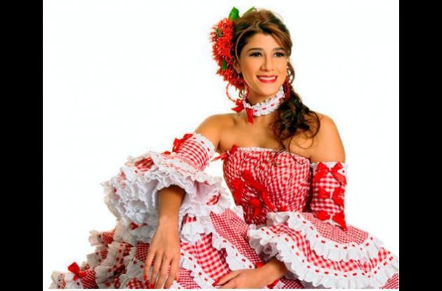 Andrea Jaramillo Char, reina del Carnaval de Barranquilla.
