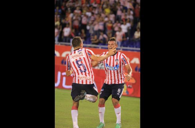 Andrés Correa y Edquin cardona, fichas de Junior