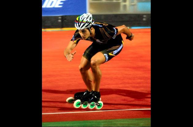 El patinador caleño Andrés Felipe Muñoz.