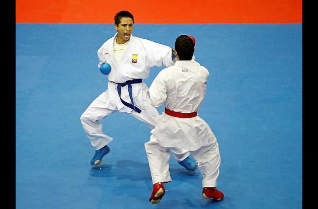 Andrés Rendón se alzó con el oro para Colombia en karate en los Panamericanos
