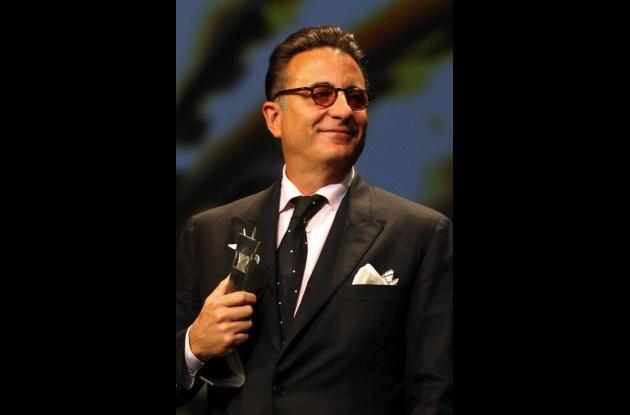 Andy García, actor cubano homenajeado en el FestiCine de Guadalajara