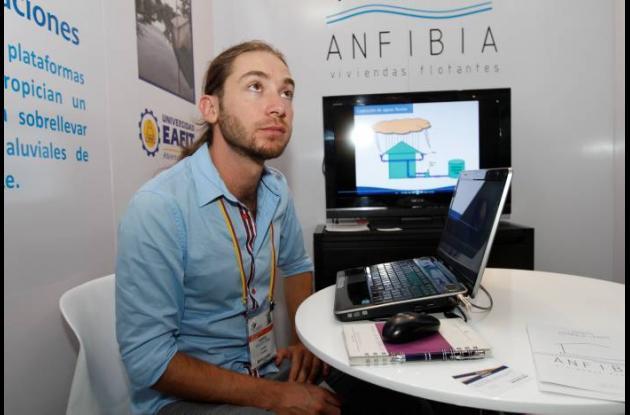 Andrés Walker Uribe, líder del proyecto Anfibia