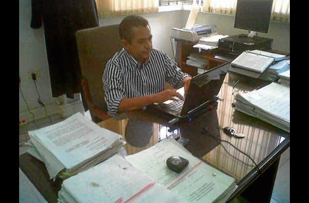 Ángel Aicardy Galeano, juez del circuito de Planeta Rica.