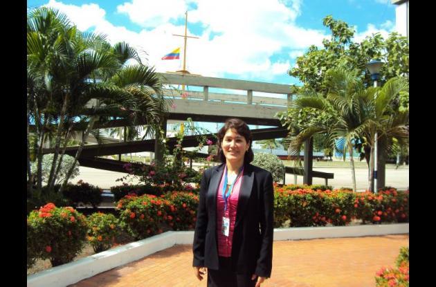 La colombiana Angélica Gutiérrez Magness