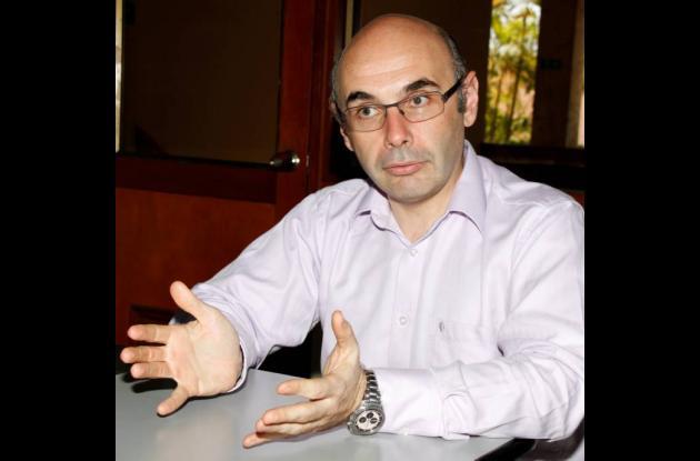 Ángel Tascón, representante legal del Consorcio Cartagena 2010.