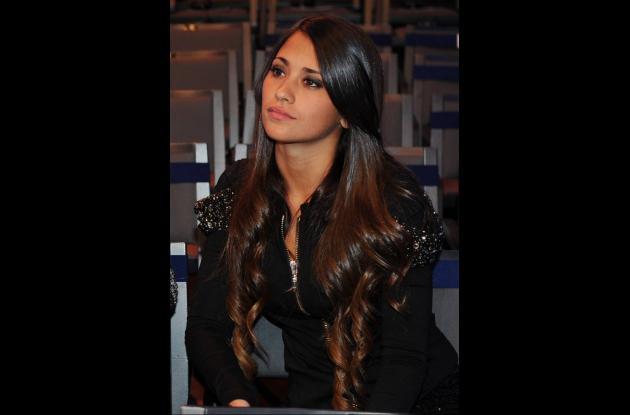 Antonella Roccuzzo, novia de Lionel Messi.