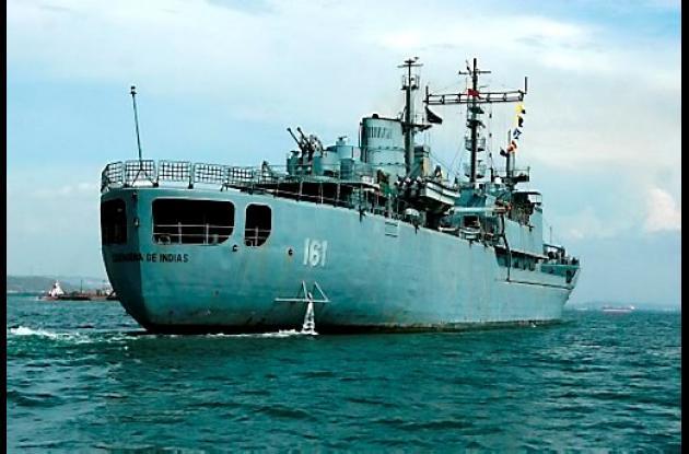 Buque ARC Cartagena de Indias, de la Armada Nacional.