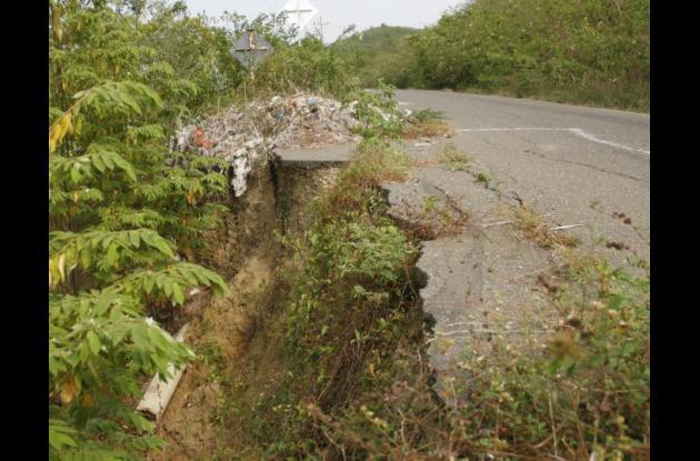 Hace unos meses la comunidad denunció a través de este medio el deterioro de la vía.