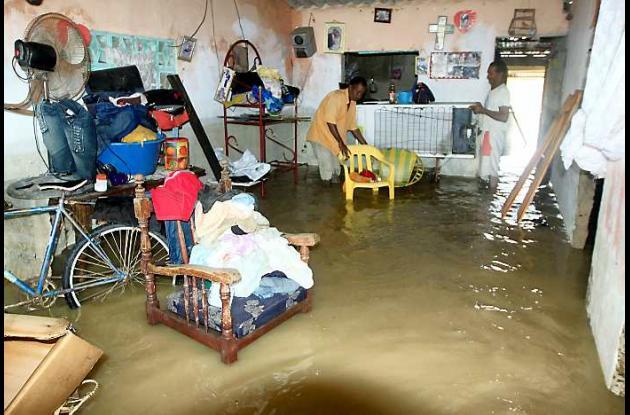 Alrededor de 200 familias damnificadas dejaron las lluvias en San Estanislao de