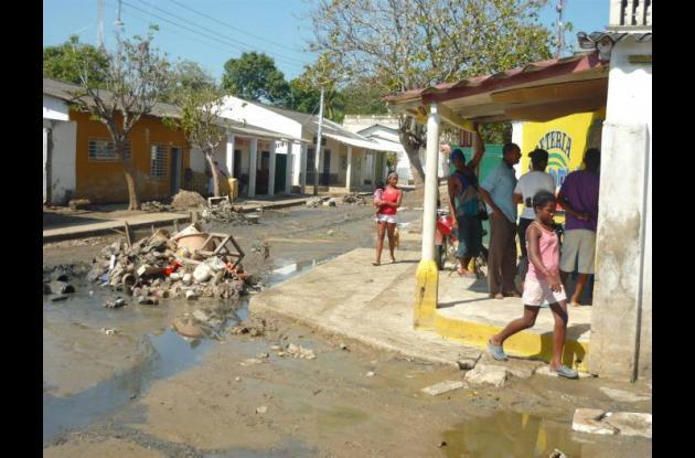 Ayer se evacuaron las aguas de los barrios Bajo Fresco y San José, los últimos q