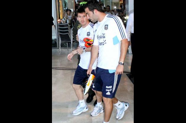 Selección Argentina causa conmoción en Barranquilla