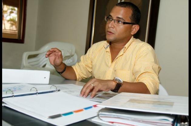Arnaldo Barreto Lezama, Secretario de Planeación de Magangué.