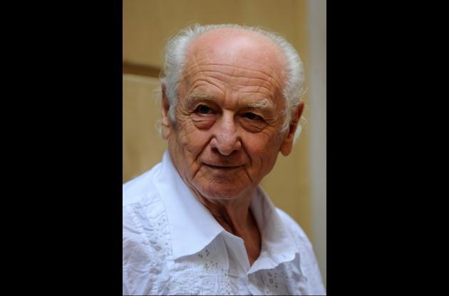 El escritor checo Arnost Lustig.