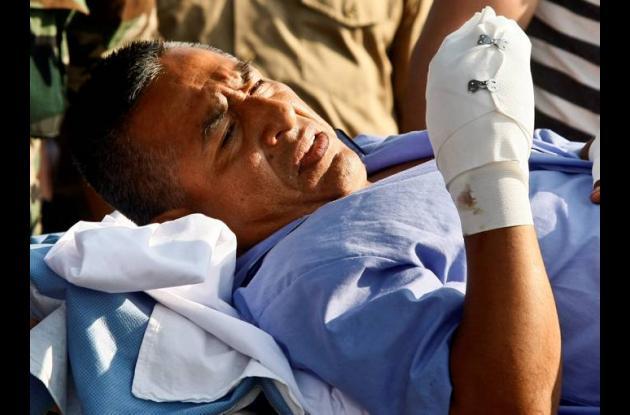 Artemio fue capturado mal herido de bala