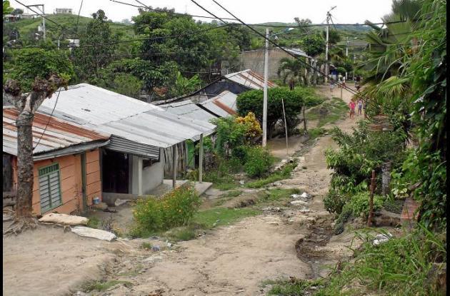 Osnaider vivía en el barrio Altos del Rosario, donde fue baleado.