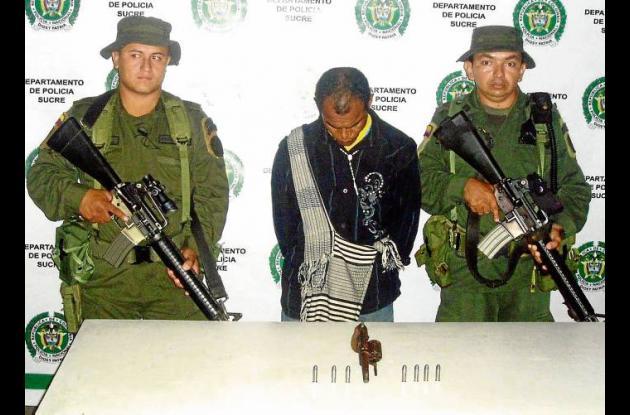 """Daniel Correa, alias """"El Diablo"""", capturado. Al parecer pretendía asesinar"""