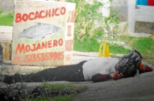 Jaime Atencia, asesinado por sicarios