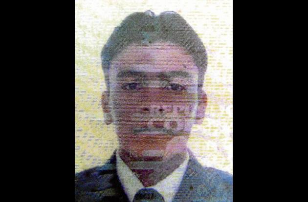 Elvis Arturo Tovío Lobo, víctima