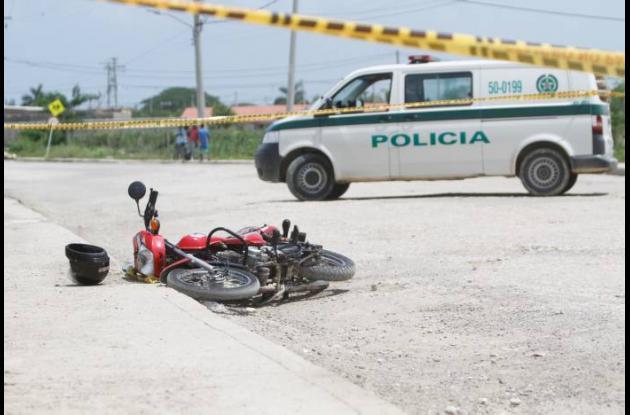 El vendedor fue interceptado por los sicarios que lo asesinaron.