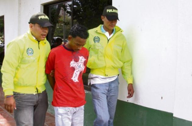 El lunes, a las 8:30 de la mañana, la Policía capturó en el Centro de Cartagena