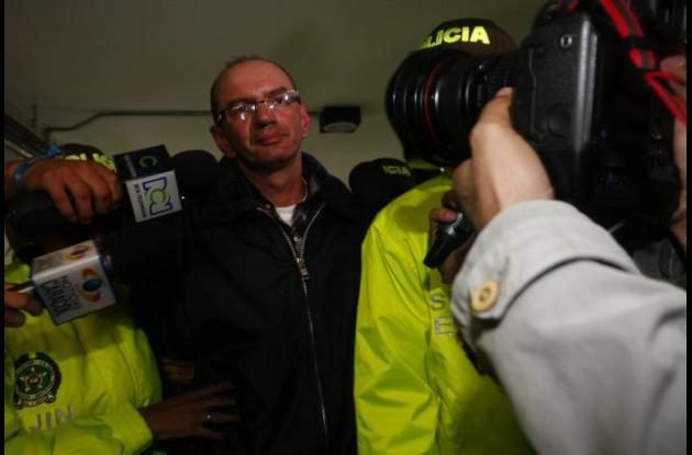 Javier Velasco, sindicado de asesinar a Rosa Elvira Cely.