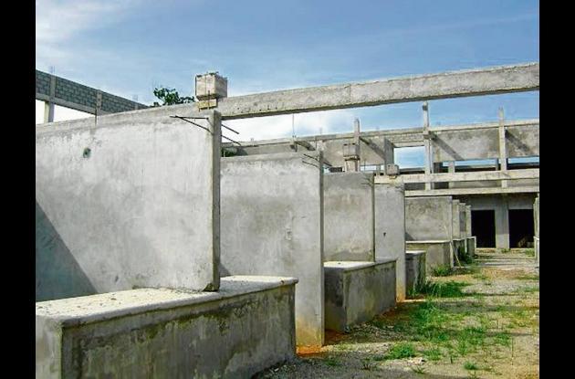 Asosanjorge dejó varias obras inconclusas en el municipio de Montelíbano