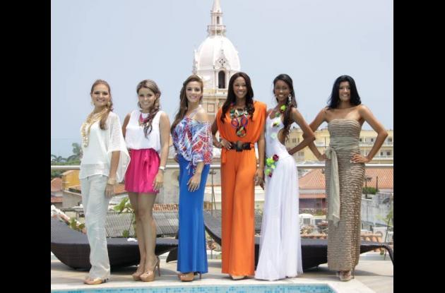 Aspirantes a Señorita Cartagena 2012-2013