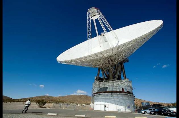 Las antenas de la Red del Espacio Profundo de la agencia espacial en California