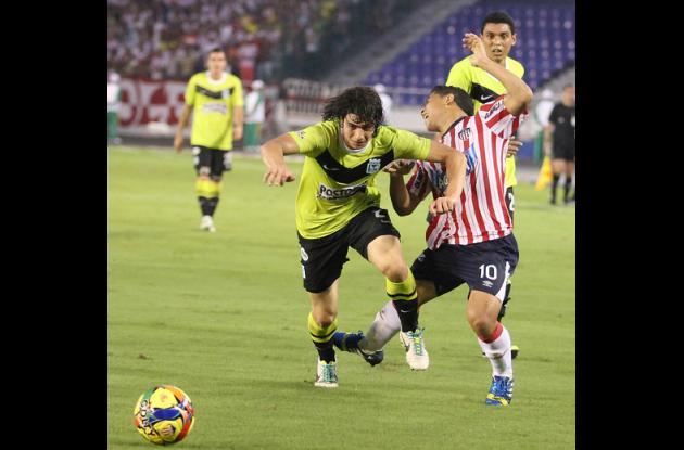 Encuentro Atlético Nacional- Junior.