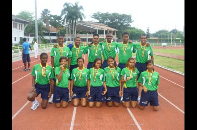 Atletismo de Bolívar.