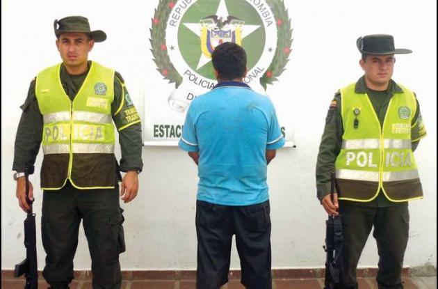 Nelson Díaz Cárdenas, capturado por hurto agravado y calificado.