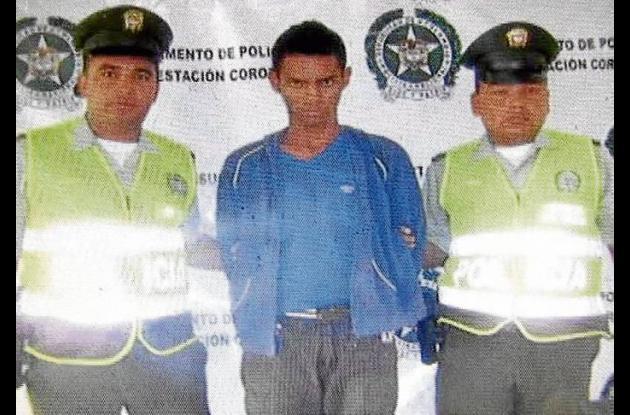 Jorge Eliécer Márquez Pérez, capturado