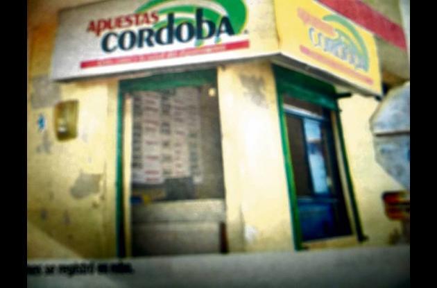 Sede de Apuestas de Córdoba en Sahagún, donde se perpetuó un atraco